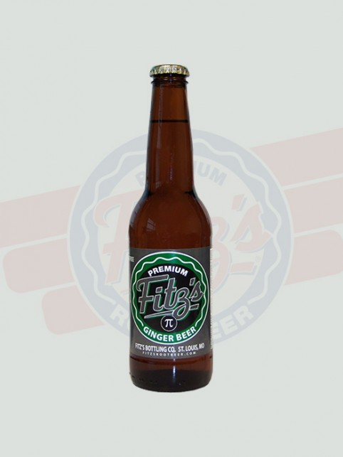 Pi Ginger Beer   Fitz's   12 Pack