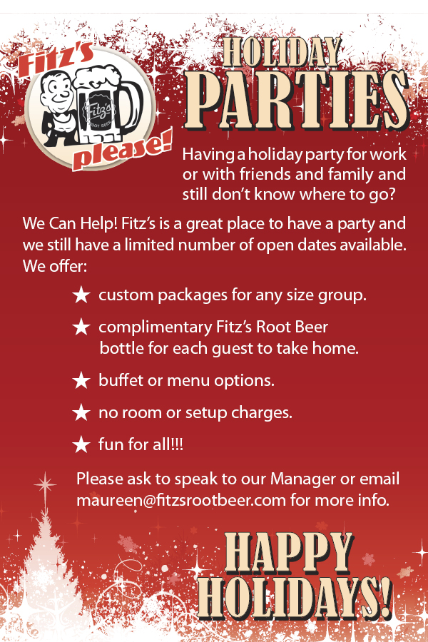 Fitz's Holiday Parties - Christmas