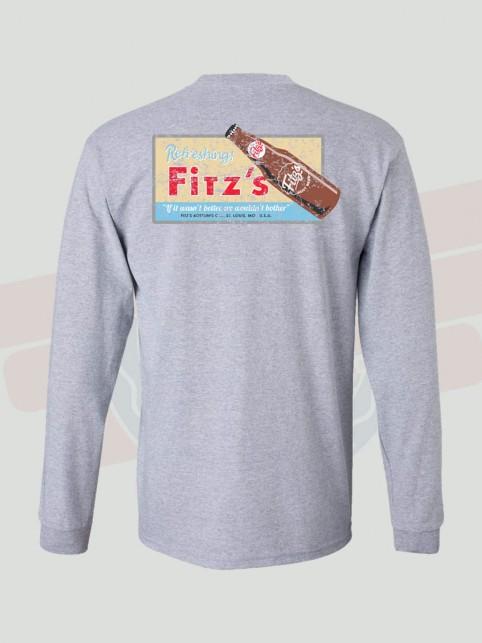 Truck Logo (back)   Grey   Fitz's