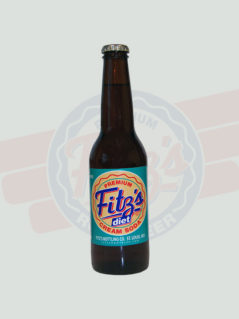 Diet Cream Soda | Fitz's | 12 Pack
