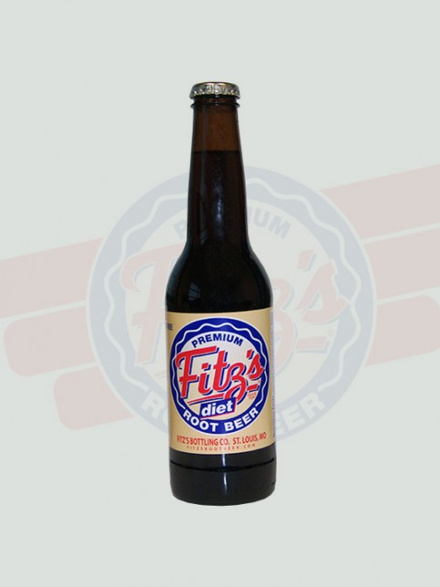 Diet Root Beer | Fitz's | 12 Pack