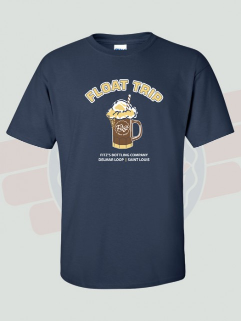 Float Trip Tshirt (front)   Fitz's