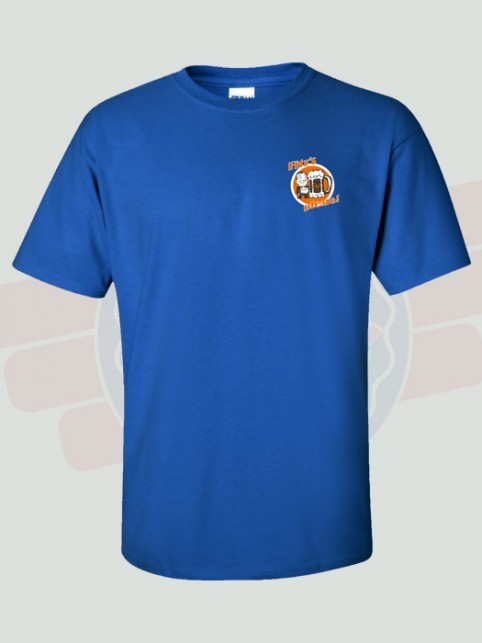Orange Pop T-Shirt (front) | Fitz's