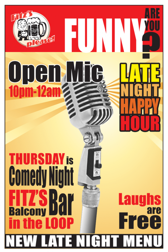 Fitz's Thursday Night Open Mic