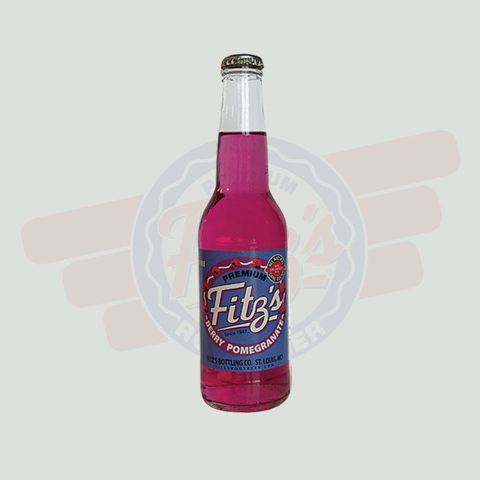Fitz's Premium Soda - Berry Pomegranate Soda