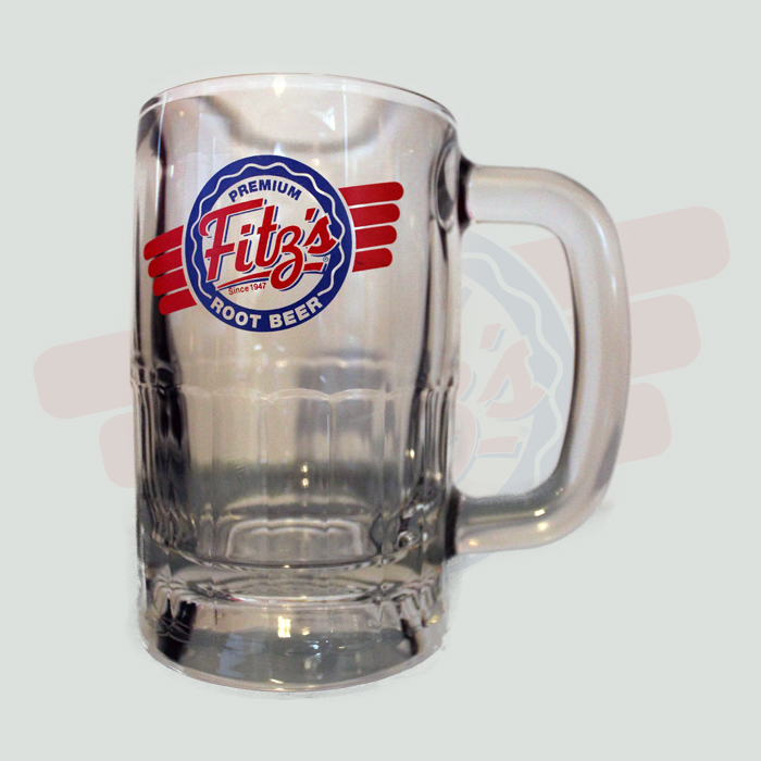fitzs root beer mugs traditional logo