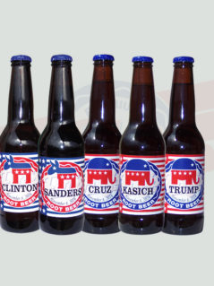 Fitz's Presidential Candidate Bottles
